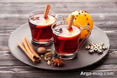 نوشیدن چای دارچین