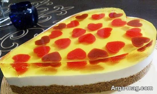 تصاویری از تزیینات کیک با میوه