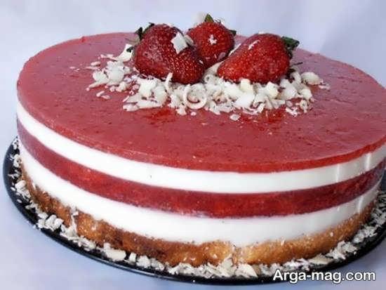 تزیینات کیک با میوه