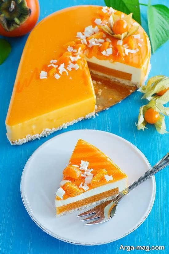 جدیدترین تزیینات کیک با میوه