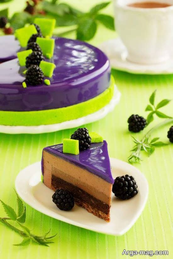 تزیینات کیک با میوه شاتوت