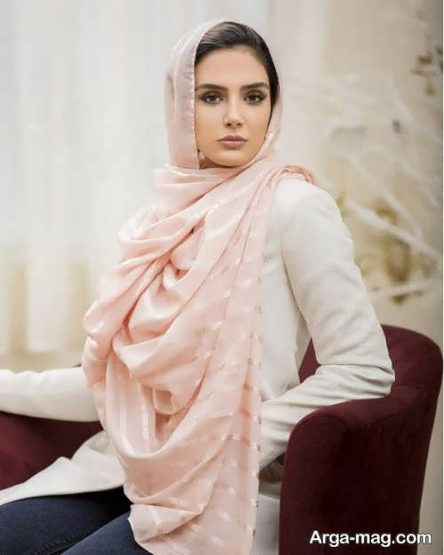 مدل شال زنانه مجلسی