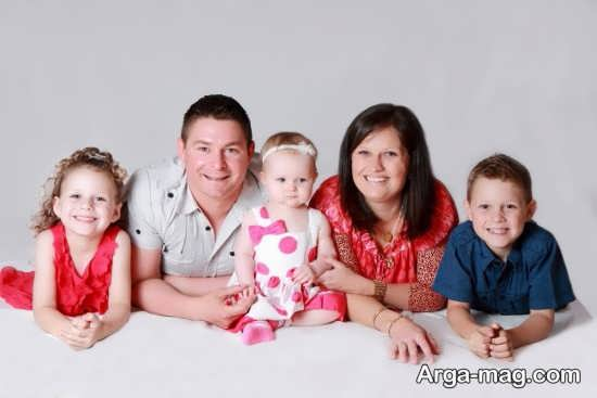 ژست جالب عکس خانوادگی