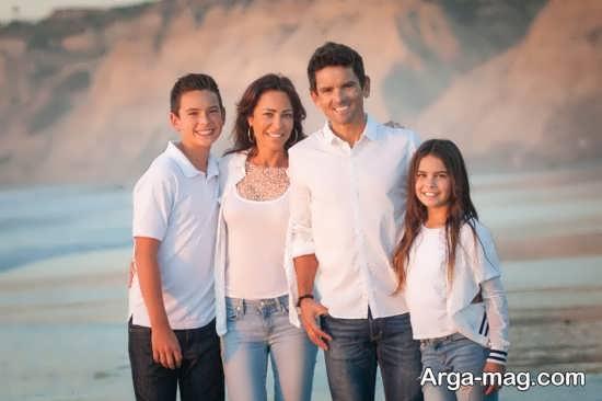 ژست زیبا و جالب برای گرفتن عکس خانوادگی