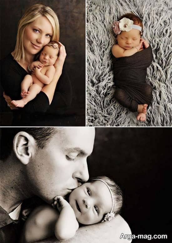 ژست های زیبا برای عکس خانوادگی
