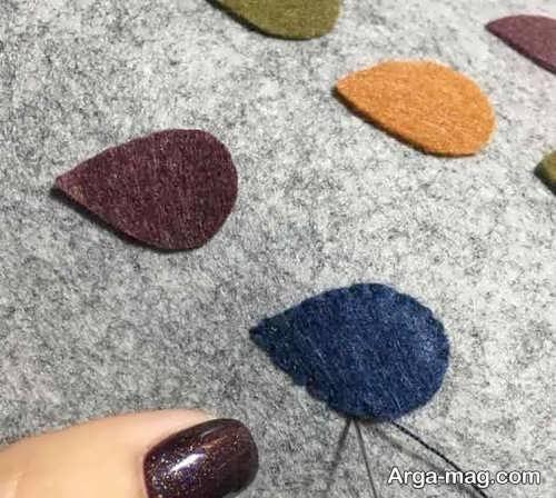 روش ساختن کیف نمدی