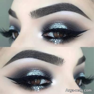 مدل آرایش چشم ریز
