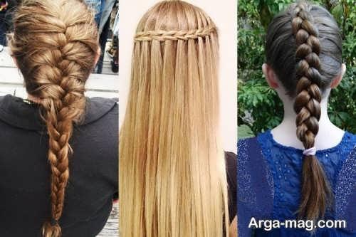 مدل موی دخترانه باز بسته