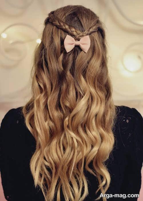 مدل موهای جدید دخترانه برای عروسی