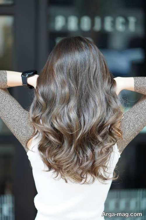 رنگ مو خاکی شیک و جذاب