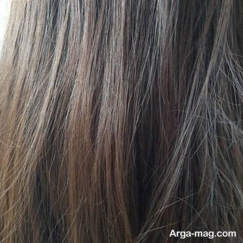 رنگ موی شیک و جذاب خاکی