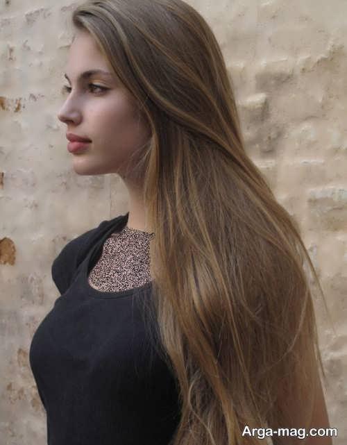 رنگ موی روشن خاکی