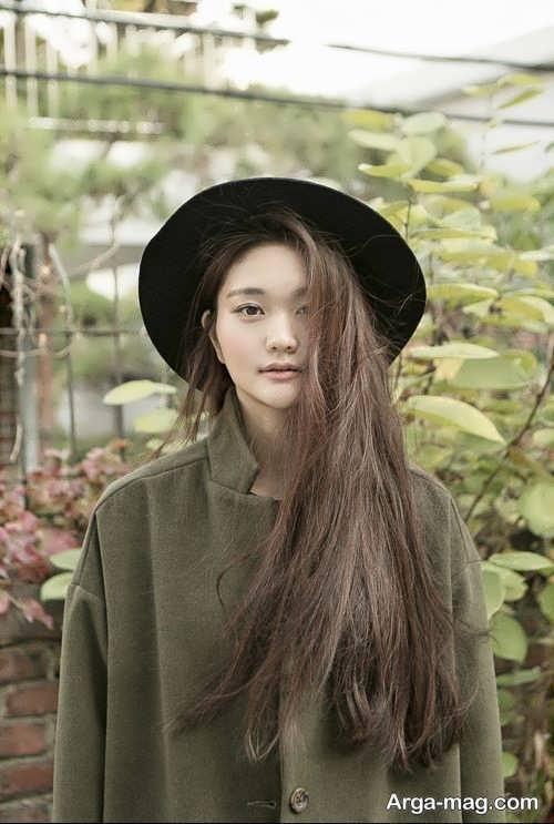رنگ موی شیک و متفاوت خاکی