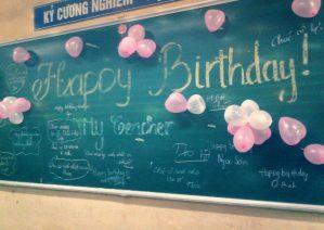 تبریک تولد معلم
