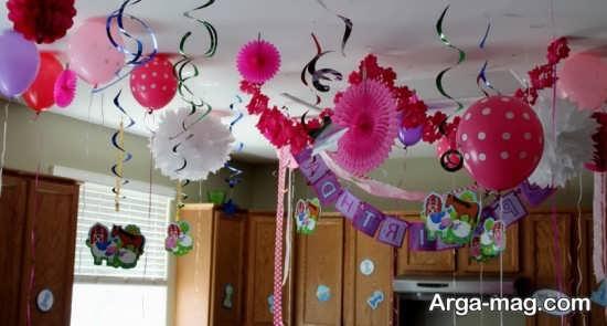 تزیین عالی منزل برای تولد