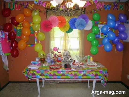 تزیین فوق العاده منزل برای تولد