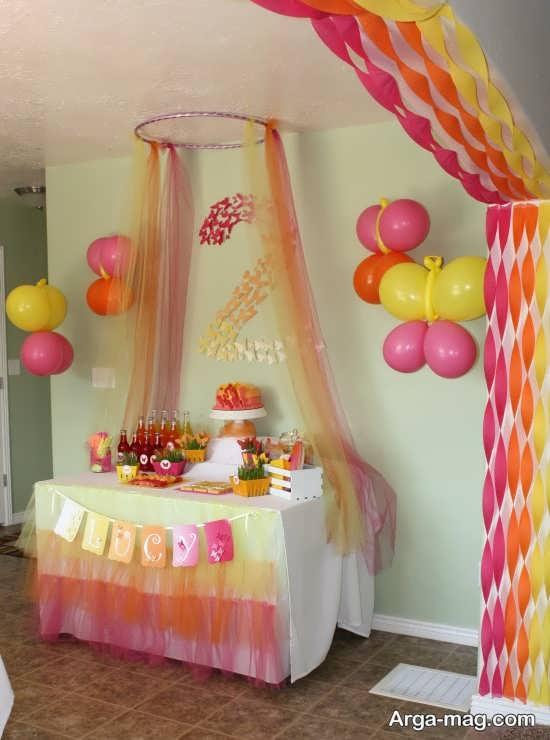 تزیین منزل برای تولد