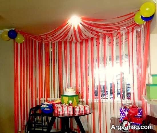 تزیین لاکچری منزل برای تولد