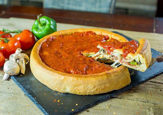 طرز تهیه پیتزا شیکاگو