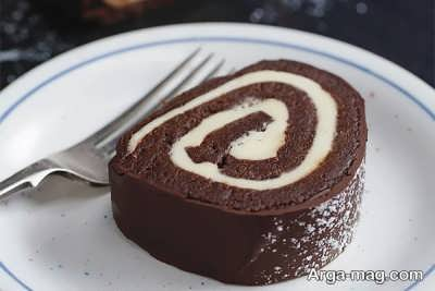 دستور تهیه رولت شکلاتی