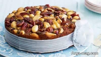 دستور تهیه کیک آجیلی