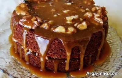 آموزش تهیه کیک آجیلی