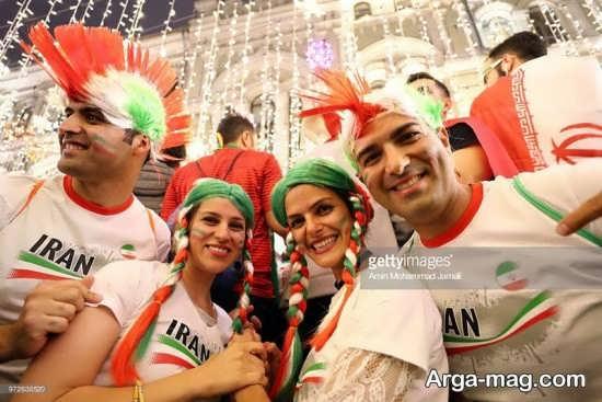 حضور داغ هواداران ایرانی