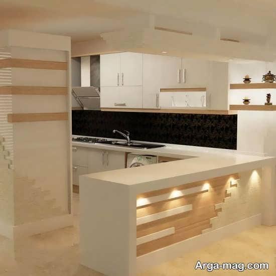 دیزاین زیبای کابینت آشپزخانه