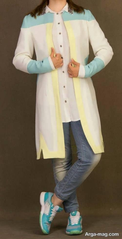 مدل مانتو جلوباز دخترانه