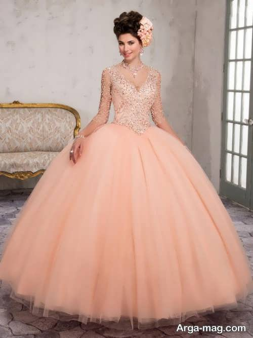 [تصویر:  Model-bridal-Peach-color-10.jpg]