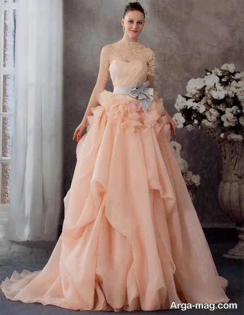 [تصویر:  Model-bridal-Peach-color-15.jpg]