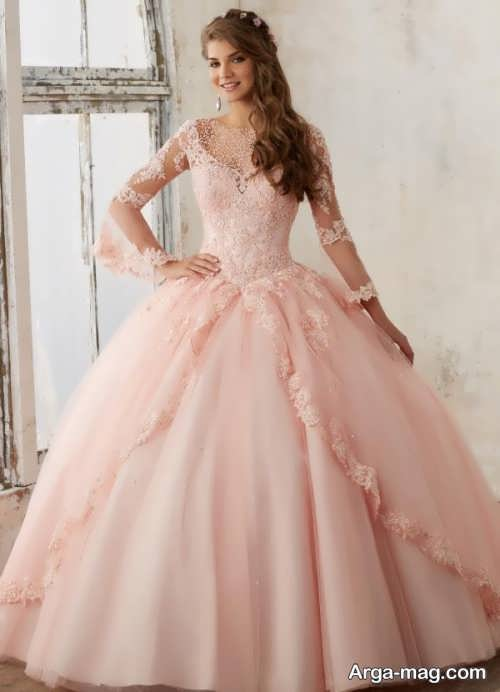 [تصویر:  Model-bridal-Peach-color-18.jpg]