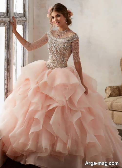 [تصویر:  Model-bridal-Peach-color-19.jpg]