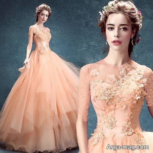 [تصویر:  Model-bridal-Peach-color-2.jpg]