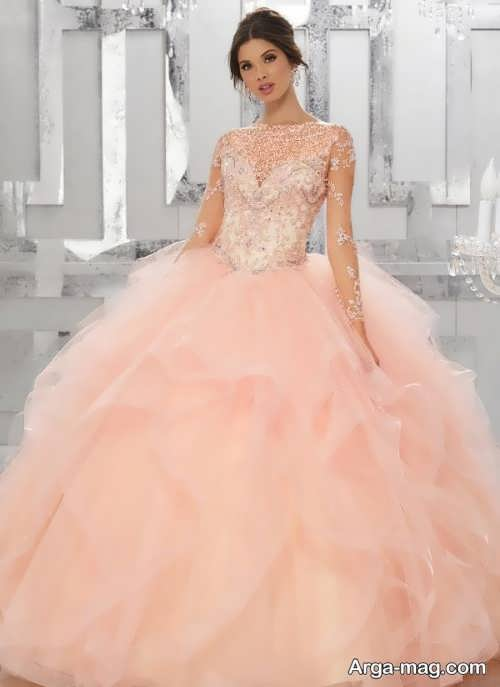 [تصویر:  Model-bridal-Peach-color-20.jpg]