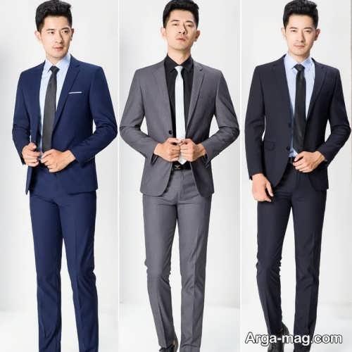 مدل کت و شلوار رسمی مردانه