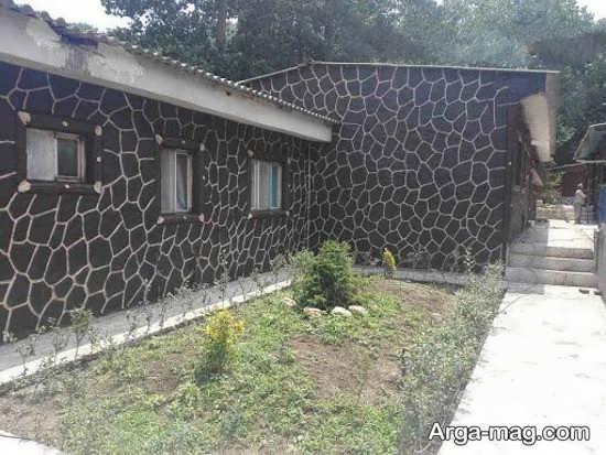 خاص ترین رنگ آمیزی دیوار حیاط