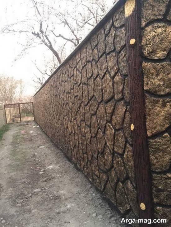 رنگ آمیزی ایده آل دیوار ویلا