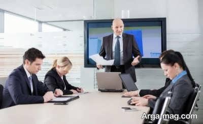 رابطه کاری با مدیر