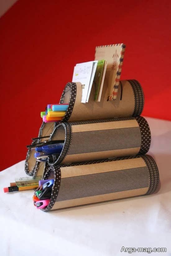 رول دستمال کاغذی برای کاردستی
