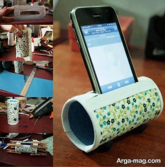کاردستی خلاقانه با رول دستمال کاغذی