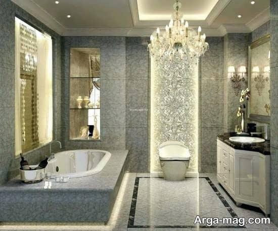 دکوراسیون حمام سلطنتی
