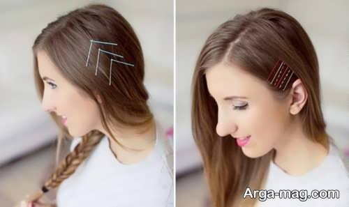 مدل موی ساده و صاف