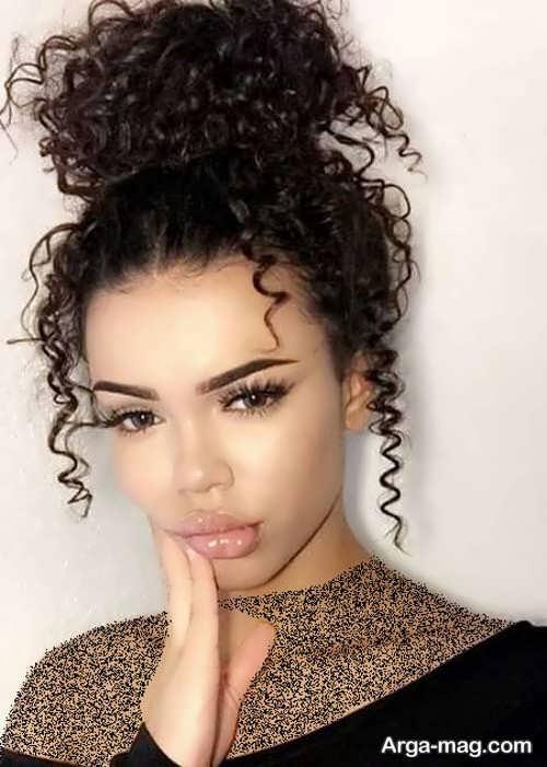 مدل موی دخترانه فر