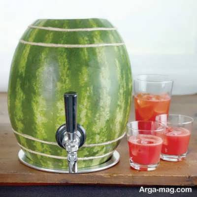 آب هندوانه نوشیدنی خنک و گوارا