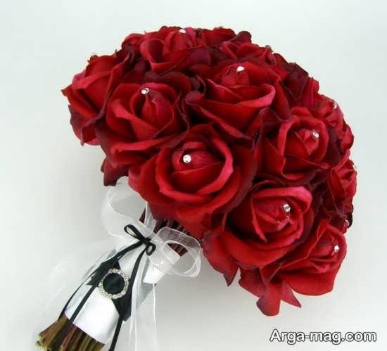 مدل دسته گل عقد برای قرمز