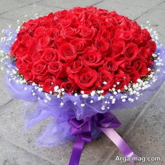 مدل دسته گل قرمز