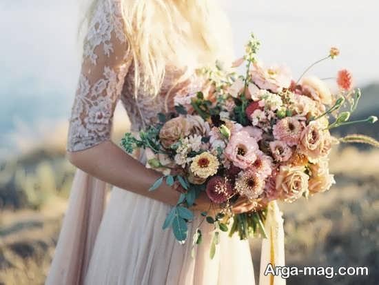 مدل های دسته گل برای مراسم عقد