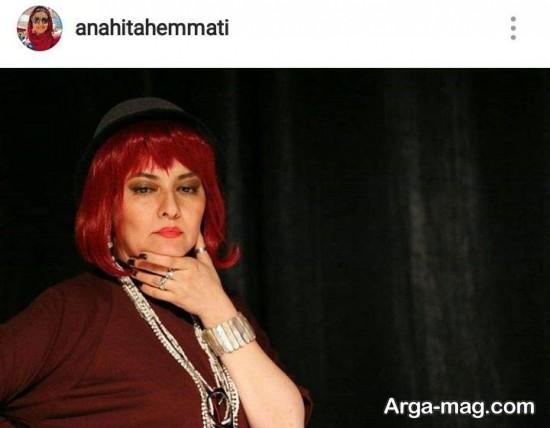 آناهیتا همتی در تئاتر جدید