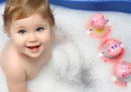 شیوه حمام کردن نوزاد
